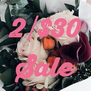 Other - 2/$30 Spring Closet Sale!
